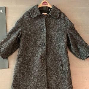 Vince Plaid Tweed Jacket